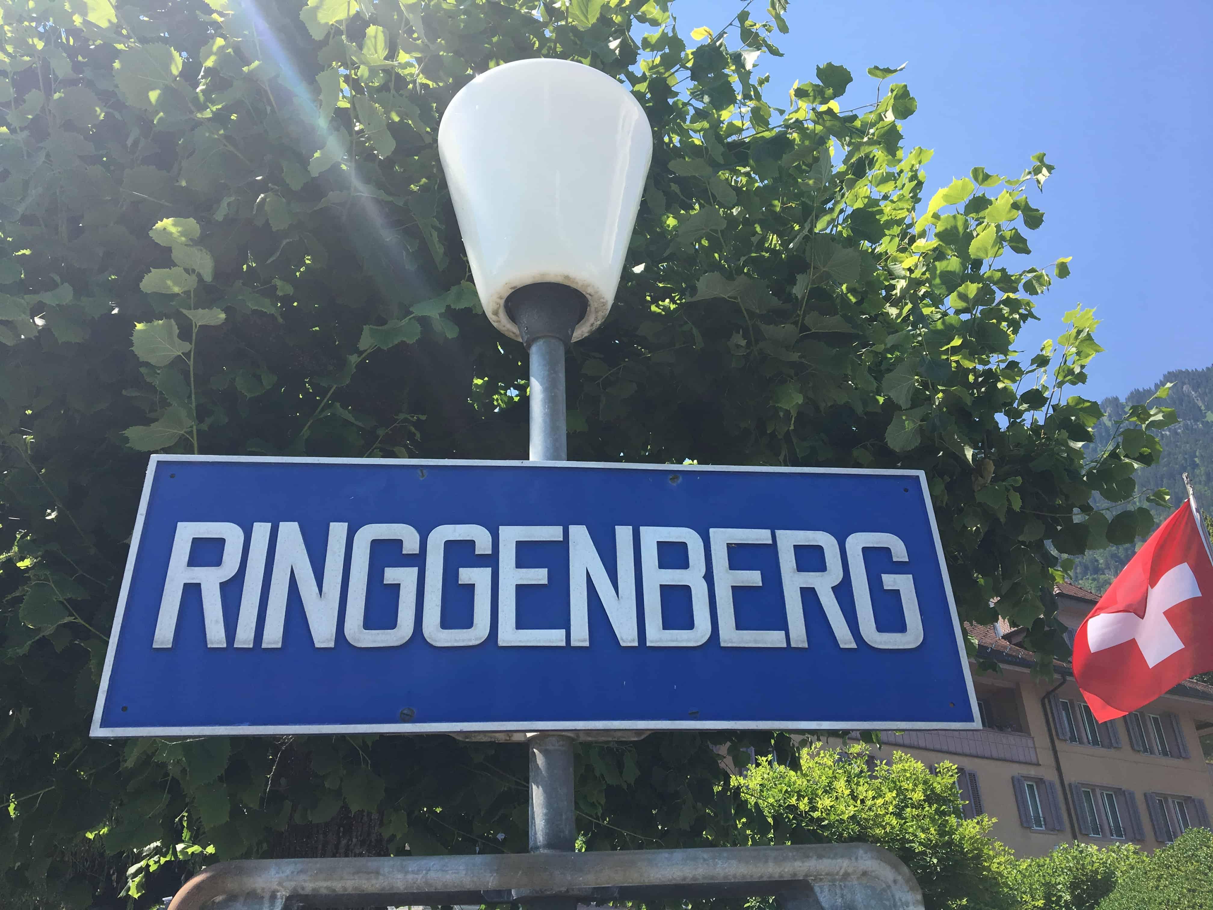 Ringgenberg Schiffsstation