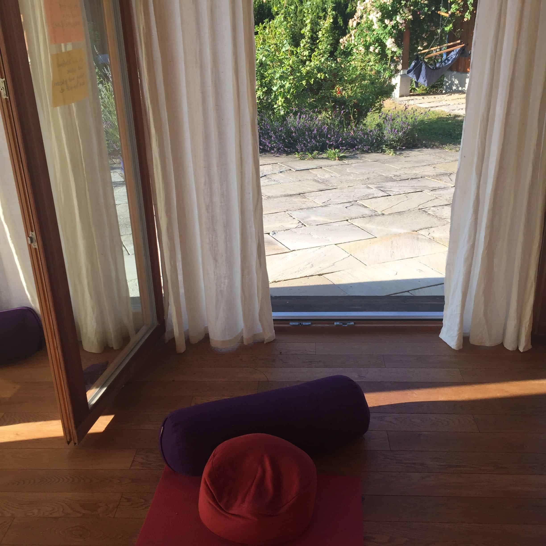 Yoga im Pavilion