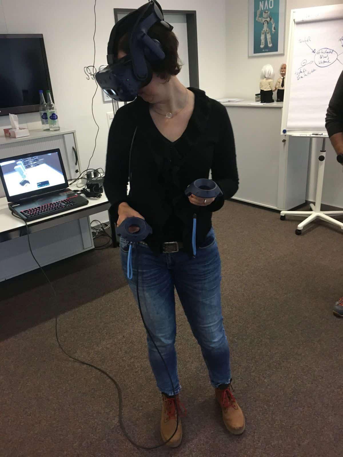 Erfahrungen mit Virtual Reality