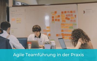 So funktioniert agile Teamführung in der Praxis