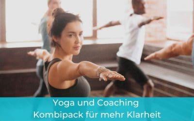 Yoga und Coaching – Kombipack für  mehr Klarheit